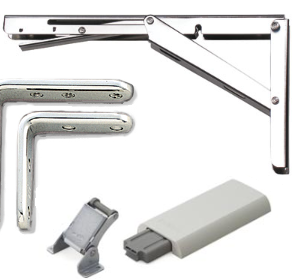 Brackets, Ratcheting Hinges, and Accessories
